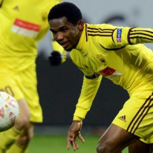 Etoo upbeat on Anzhi title chances