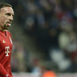 Ribery dogged at training by angry fan: club