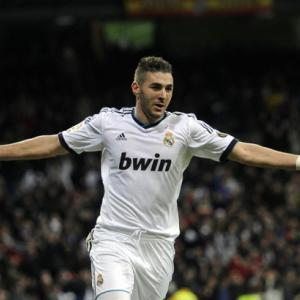Madrid striker Benzema hopeful of making Barcelona clash