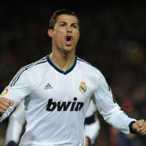 Ronaldo double helps Real sink Barca