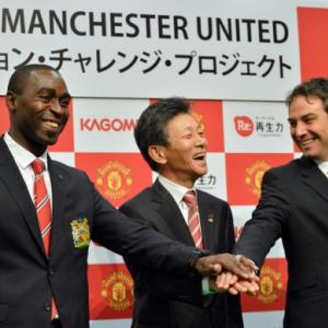 Man United to run football schools in tsunami-hit Japan