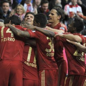 Bayern fight back to floor Fortuna as Arsenal loom
