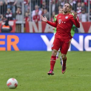 Bayerns Ribery ruled out of Arsenal clash