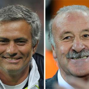 Spain boss Vincente Del Bosque brands Mourinho's claims childish
