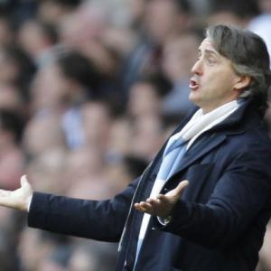United driven by revenge, says Mancini