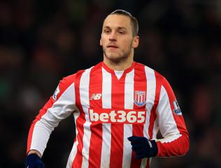 Stoke forward Marko Arnautovic has £12.5million buy-out clause in his contract