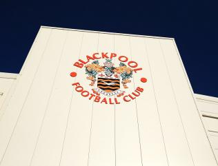 Protest stops Blackpool game