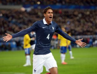 Varane to captain France against Danes