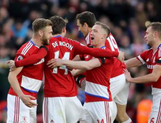 Martin de Roon snatches derby honours for Middlesbrough over Sunderland
