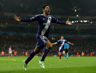 Manchester United make surprise bid for Anderlecht striker Mitrovic