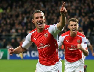 Podolski set for Arsenal departure