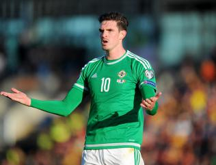 Kyle Lafferty selected for Northern Ireland's Euro 2016 qualifiers