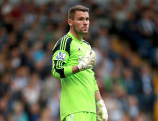 WBA's Ben Foster out for 12 weeks