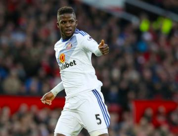 Sunderland's Papy Djilobodji charged with violent conduct by FA