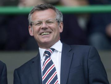 Rangers managing director Stewart Robertson elected to SPFL board