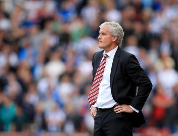 Mark Hughes feels officials 'missed quite a lot' in Stoke's defeat to West Brom