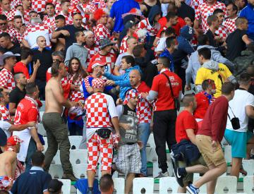 Croatian football federation fined by UEFA over crowd disturbances