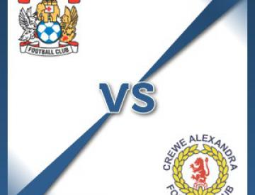 Coventry V Crewe at Ricoh Arena : Match Preview