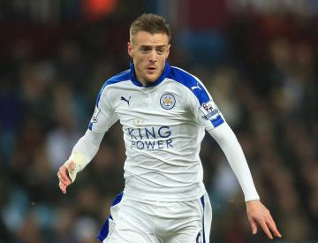Leicester in contract talks with England striker Jamie Vardy