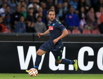 Gonzalo Higuain absence knocks Napoli's title hopes