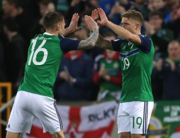 Jamie Ward: Drawing on past success will stand Northern Ireland in good stead