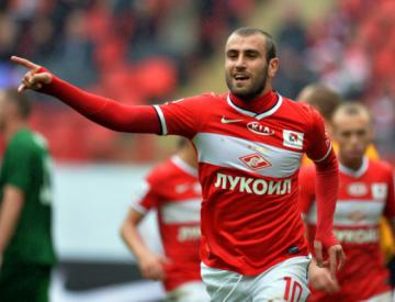 Spartak beat Anzhi to continue chasing Zenit