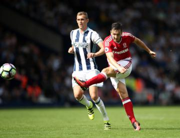 West Brom and Middlesbrough serve up a contest to forget