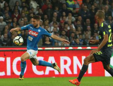 Napoli drop first Serie A points of season as second-placed Inter secure draw
