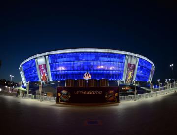Exiled Shakhtar miss home support against Bayern