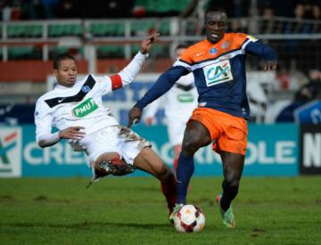 Cannes stun Montpellier, Lille avoid Cup upset