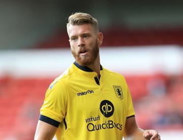 Aston Villa defender Nathan Baker joins Bristol City on a season-long loan