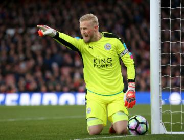 Kasper Schmeichel ruled out of Denmark matches with thigh injury