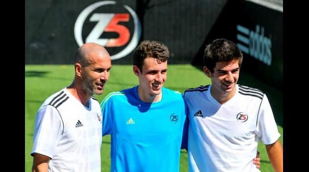 Enzo Zidane - Son of French legend Zinedine Zidane to have Liverpool trial