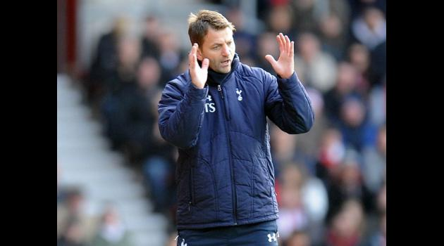 Sherwood 'proud and honoured' to be Spurs head coach