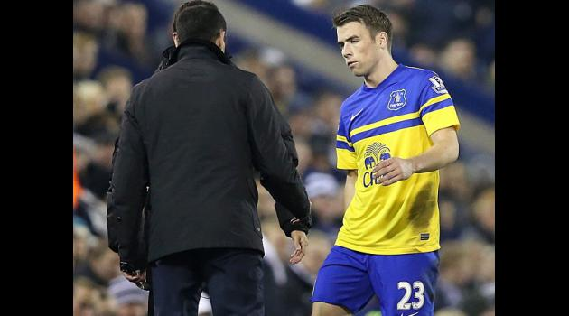 Everton sweat on Coleman