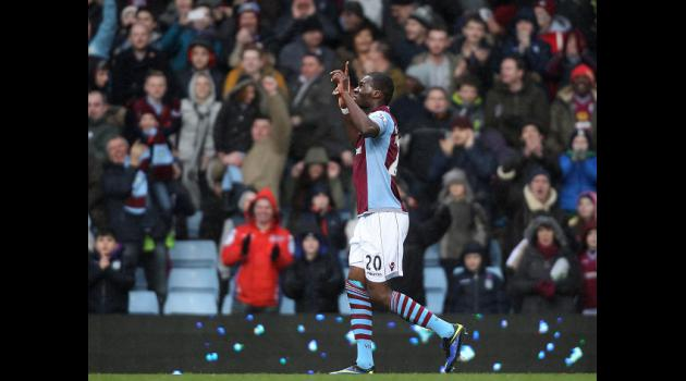 Lambert wants more from Villa front man Benteke