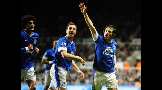 Newcastle 1-2 Everton: Report