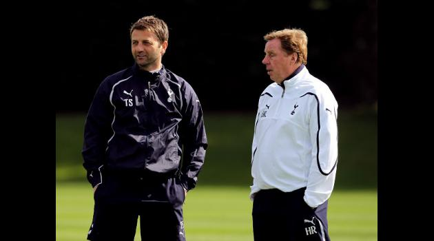Sherwood pleased with Redknapp link