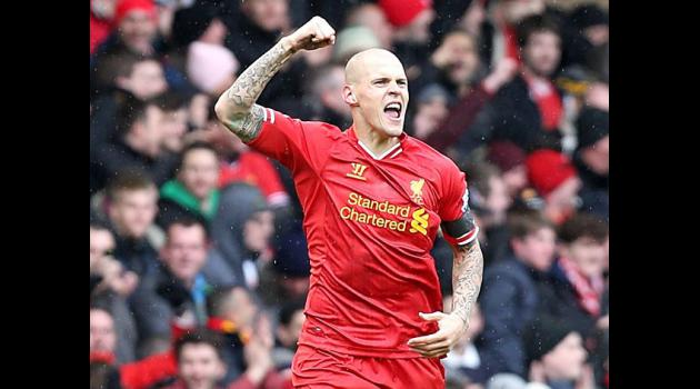 Skrtel's timely double