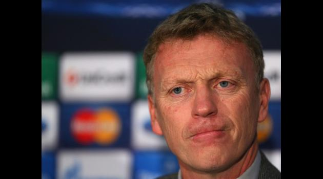 Moyes taking blame for United problems