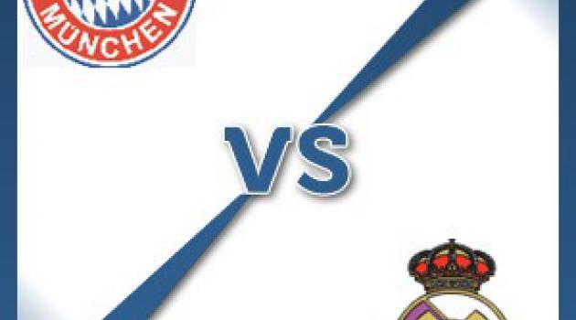 Real Madrid away at Bayern Munich - Follow LIVE text commentary