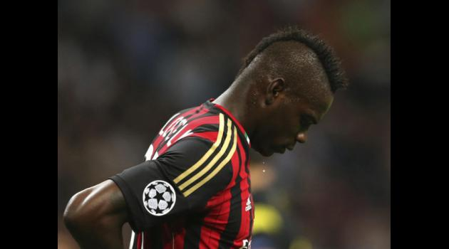 Allegri defends ineffective Balotelli