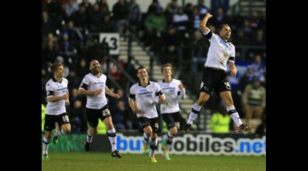 Derby down QPR as promotion race hots up