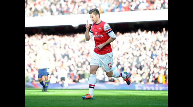 Giroud brace sinks Black Cats