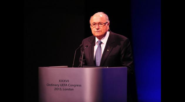 Blatter defends against critics