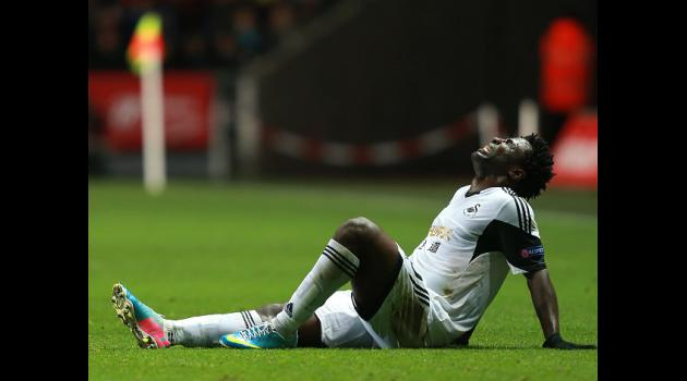 Swansea undone by controversial call