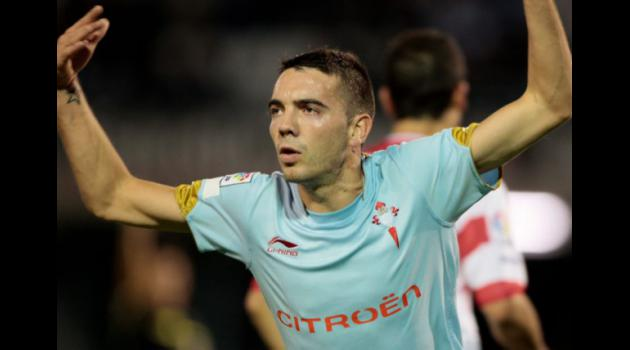 Liverpool agree Aspas deal