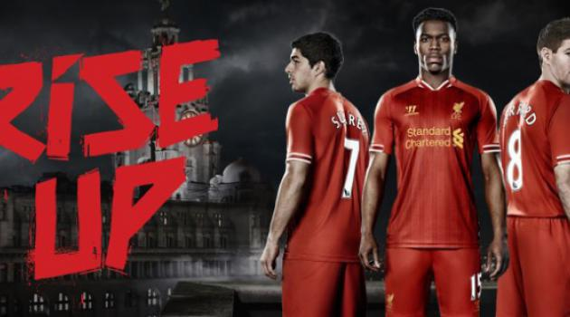 Is Suarez staying? Liverpool superstar pictured in classy new kit promotion