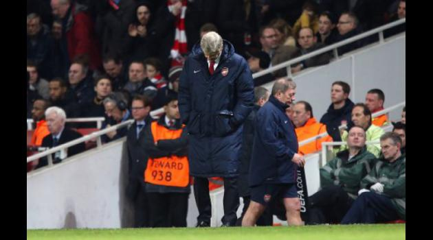 Wenger slams cynical Bayern as Arsenal face exit