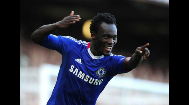 Bringing The Stars Closer To You: Chelsea's Michael Essien Interacts With Fans